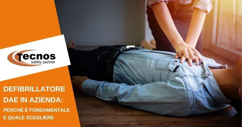 Defibrillatore DAE in azienda: cos'è, perché è fondamentale e quale scegliere